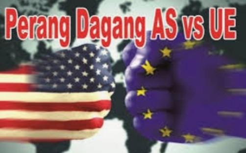 Perang dagang di AS-UE